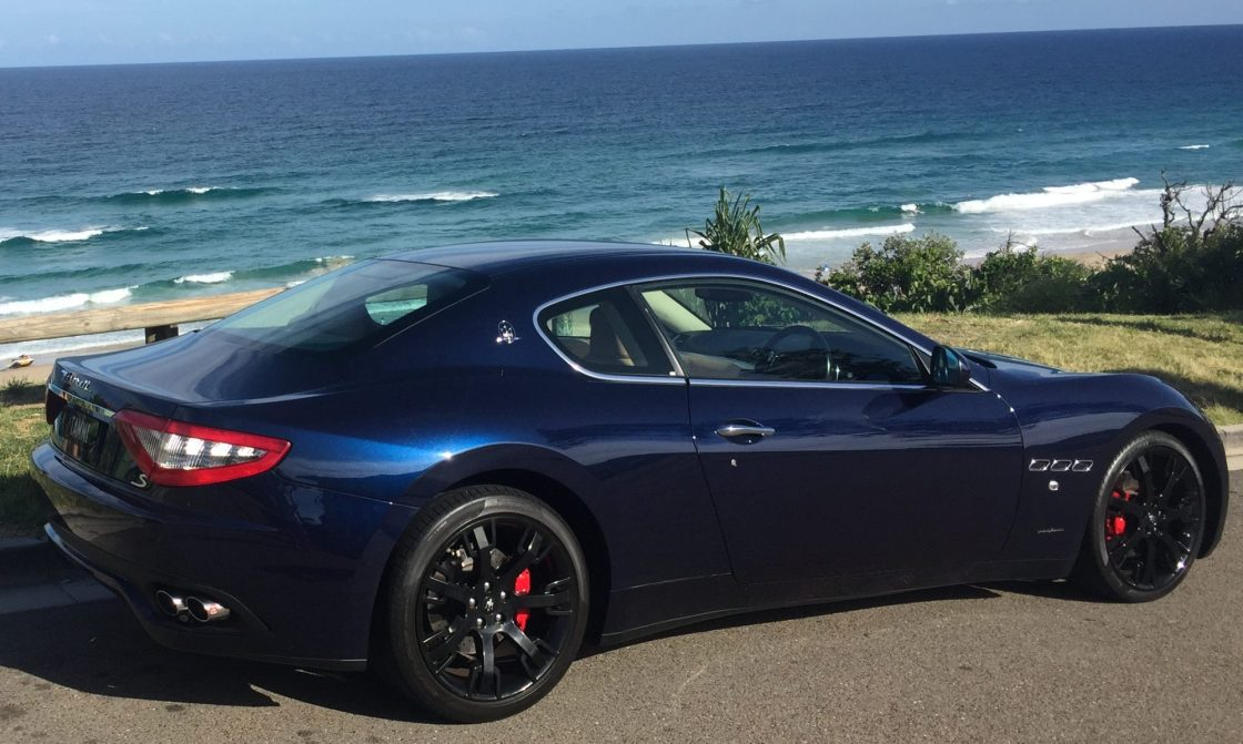 Maserati Granturismo Exotic Supercar Exotic Sports Car Rental Noosa Heads, Sunshine Coast Queensland