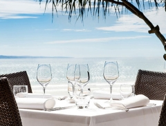 Restaurant on the Beach Noosa